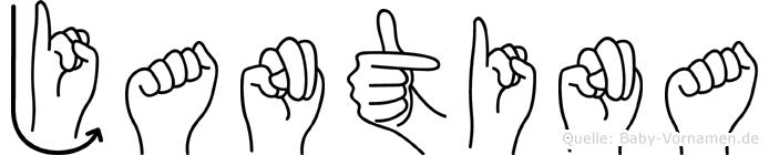 Jantina in Fingersprache für Gehörlose