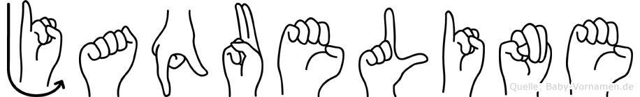 Jaqueline im Fingeralphabet der Deutschen Gebärdensprache