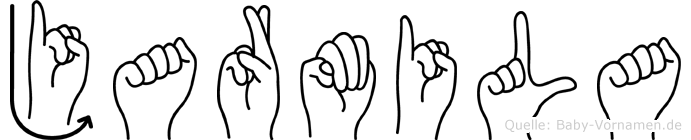 Jarmila in Fingersprache für Gehörlose