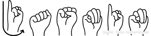 Jasmin in Fingersprache für Gehörlose
