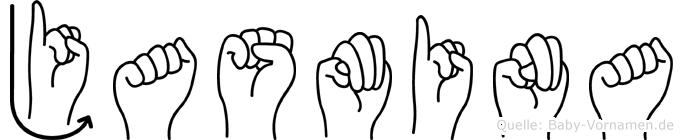 Jasmina in Fingersprache für Gehörlose