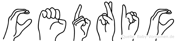 Cedric in Fingersprache für Gehörlose