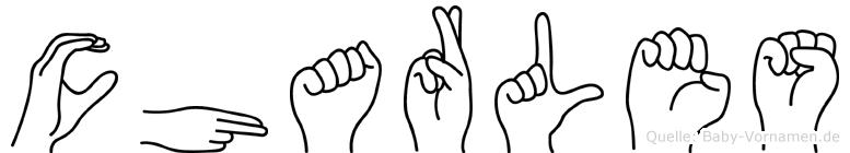 Charles in Fingersprache für Gehörlose