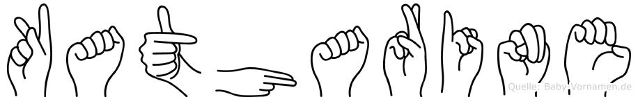 Katharine in Fingersprache für Gehörlose