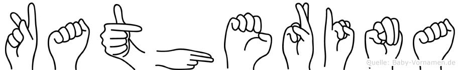Katherina in Fingersprache für Gehörlose