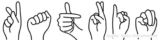 Katrin in Fingersprache für Gehörlose