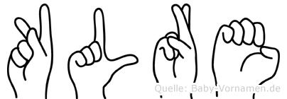 Kläre in Fingersprache für Gehörlose