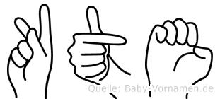 Käte in Fingersprache für Gehörlose