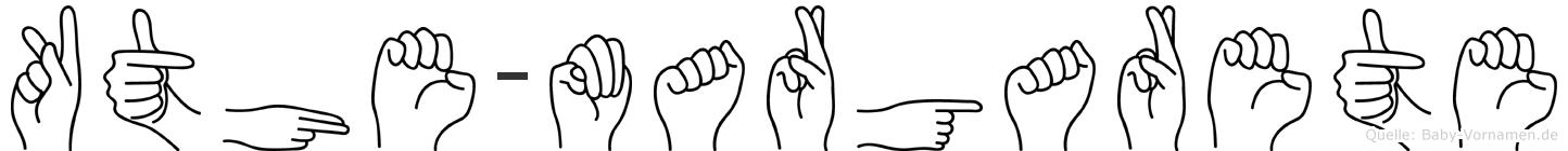 Käthe-Margarete im Fingeralphabet der Deutschen Gebärdensprache