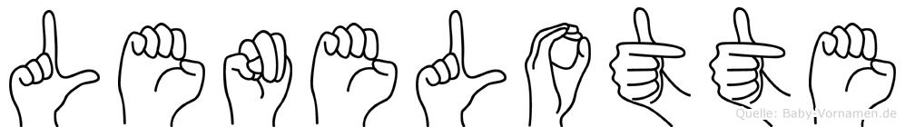 Lenelotte in Fingersprache für Gehörlose