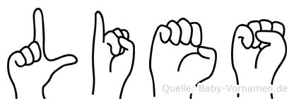 Lies im Fingeralphabet der Deutschen Gebärdensprache
