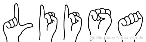 Liisa in Fingersprache für Gehörlose