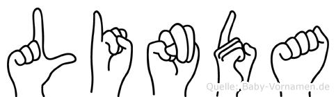 Linda in Fingersprache für Gehörlose