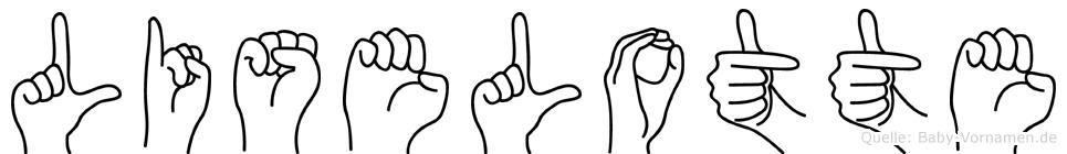 Liselotte in Fingersprache für Gehörlose