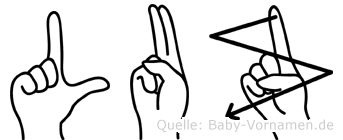 Luz in Fingersprache für Gehörlose