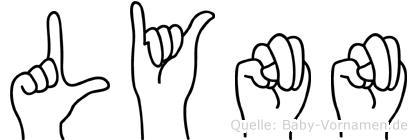 Lynn in Fingersprache für Gehörlose
