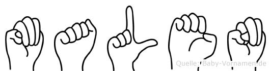 Malen in Fingersprache für Gehörlose