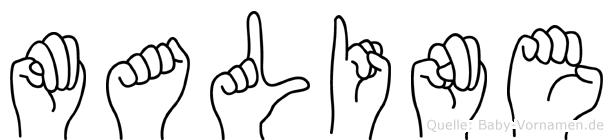 Maline in Fingersprache für Gehörlose