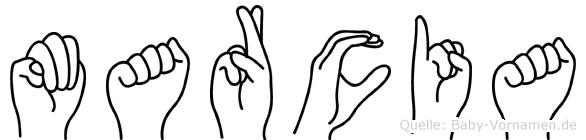 Marcia in Fingersprache für Gehörlose