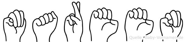 Mareen in Fingersprache für Gehörlose