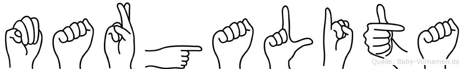 Margalita in Fingersprache für Gehörlose