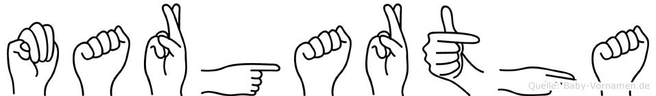 Margartha in Fingersprache für Gehörlose