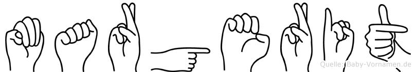 Margerit in Fingersprache für Gehörlose