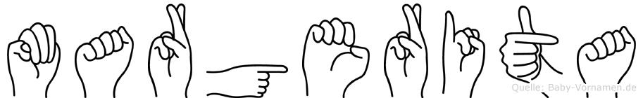 Margerita in Fingersprache für Gehörlose