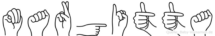 Margitta in Fingersprache für Gehörlose