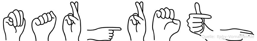 Margreth in Fingersprache für Gehörlose