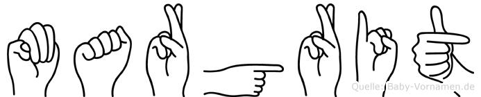 Margrit in Fingersprache für Gehörlose