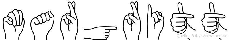 Margritt in Fingersprache für Gehörlose