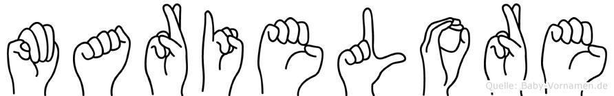 Marielore in Fingersprache für Gehörlose