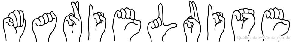 Marieluise in Fingersprache für Gehörlose