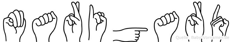 Marigard in Fingersprache für Gehörlose