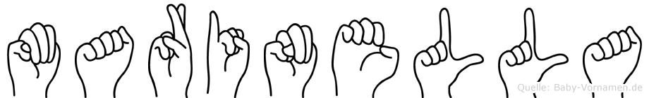 Marinella in Fingersprache für Gehörlose