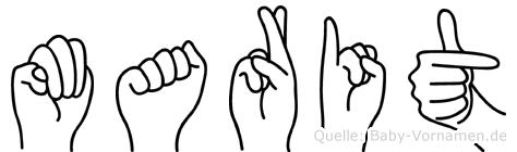Marit in Fingersprache für Gehörlose