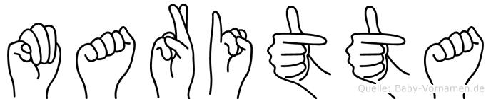 Maritta in Fingersprache für Gehörlose