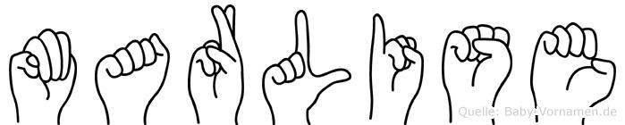 Marlise in Fingersprache für Gehörlose