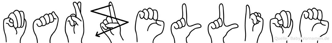 Marzelline in Fingersprache für Gehörlose