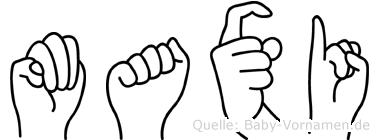 Maxi in Fingersprache für Gehörlose