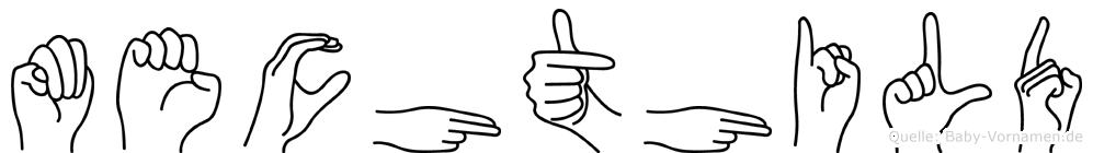 Mechthild in Fingersprache für Gehörlose