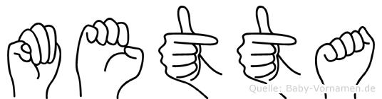 Metta in Fingersprache für Gehörlose