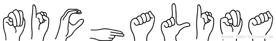 Michalina in Fingersprache für Gehörlose