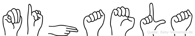Mihaela in Fingersprache für Gehörlose