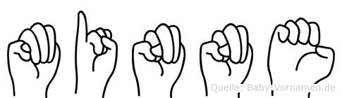 Minne in Fingersprache für Gehörlose