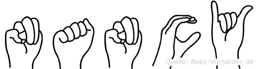 Nancy in Fingersprache für Gehörlose