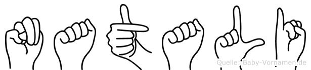 Natali in Fingersprache für Gehörlose