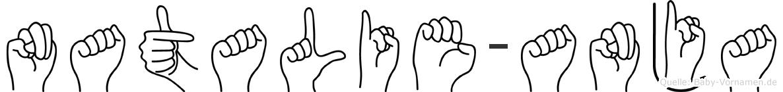Natalie-Anja im Fingeralphabet der Deutschen Gebärdensprache