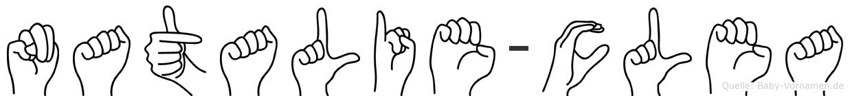 Natalie-Clea im Fingeralphabet der Deutschen Gebärdensprache